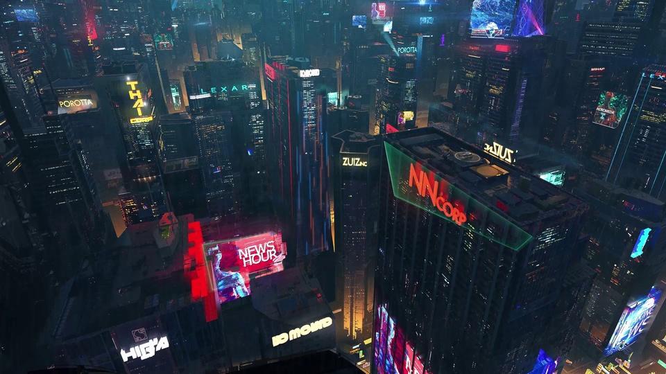 赛博朋克城市2077