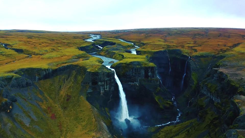 壮观冰岛风景